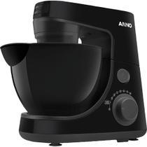 Batedeira Planetária Arno Daily SX87 600W 4L com 8 Velocidades Preta 127V -