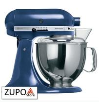 Batedeira Stand Mixer Artisan Blue Willow KitchenAid - 127V