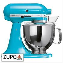 Batedeira Stand Mixer Artisan Crystal Blue KitchenAid - 127V -