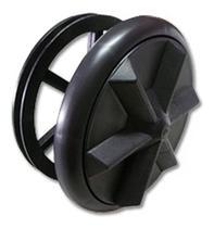 Batedor roda tanquinho 4 parafusos modelo polia grande - Plastimac