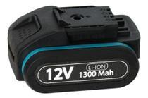 Bateria 12v 1300mah para Parafusadeira Furadeira TPA12 e TPA12i Tssaper -