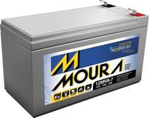 Bateria 12V 7A  Nobreak Vrla Selada - Moura -