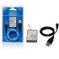 Bateria 1800mah Para Controle Wireless Dualshock De Playstation 4 Play3 Ps4 KCR-1410 - Retrô