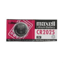 Bateria 3 volts CR2025 - Maxell/Lithium ECO -