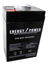 Bateria 6v4a para  balança ramuza  magna / toledo / filizola - Sec Power
