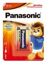 Bateria 9V Alcalina Panasonic - c/1 (cx c/12) -