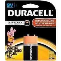 Bateria 9V Duracell Alcalina -