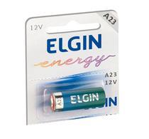 Bateria a23 alcalina 12 volts pilha para controle alarme 12v - ELGIN