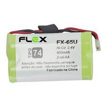 Bateria aa 2.4v 600mah tipo 74 telefone sem fio panasonic - Flex Gold