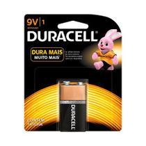 Bateria alcalina 9 volts - com 1 unidade - Duracell -