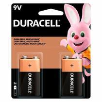 Bateria Alcalina 9V com 2 Unidades - Duracell