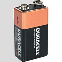 Bateria alcalina 9v duracell -