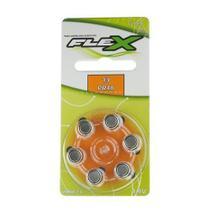 Bateria  Auditiva PR48 Cartela com 6 Unidades FLEX -