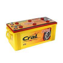 Bateria automotiva 150Ah baixa manutenção polo positivo direito - Energy Sound - Cral