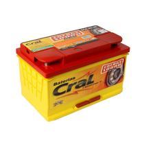 Bateria automotiva 80Ah baixa manutenção polo positivo esquerdo - Energy Sound - Cral