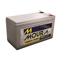 Bateria Automotiva Estacionária VRLA 12AH Moura 37976 -