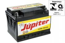 Bateria Automotiva Júpiter 60ah 12v Com Prata -