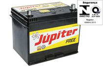 Bateria Automotiva Júpiter 70ah 12v Selada Tucson Com Prata -