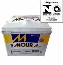 Bateria Automotiva Moura 80ah 12v Inteligente Selada 80rd/re