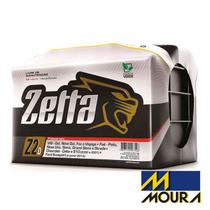 Bateria Automotiva Moura Zetta Z60D Selada, 60 Amperes, Positivo Direito -
