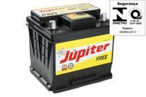 Bateria Automotiva Selada Júpiter 50ah 12v Pálio Com Prata -