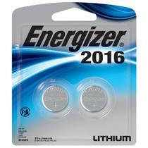 Bateria Botao Energizer 2016 Lithium 3V Cartela com 2 CR2016 -