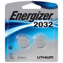 Bateria Botao Energizer 2032 Lithium 3V Cartela com 2 CR2032 -