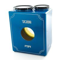 Bateria Cajón FSA Tajon Master TAJ74 Azul Mini Bateria Cajón Kit Compacto Edição Limitada - Fsa Cajóns