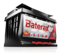 Bateria carro baterax 60 amperes 12v sem manutenção. -