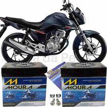 Bateria De Moto Honda Cg 160 Start 16 À 2018 Moura Original -