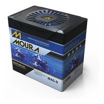 Bateria de Moto Moura 5 Amperes Cg Titan Fan 125 150 160 Dafra  Biz -