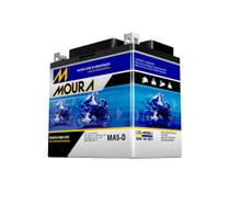 Bateria de Moto Moura MA5-D Honda Cg, Nxr Bros 125, 150, 160, Xre 300 e Biz 100, 125, Pop 100 -
