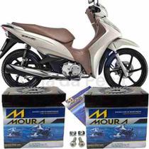 Bateria De Moto Moura Original Top Biz 125+flex 2006 À 2010 -