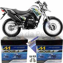 Bateria De Moto Yamaha Xtz 150 Crosser E/ Ed 12v 5ah * - Moura