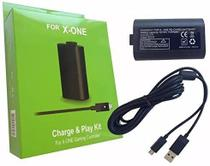 Bateria e Cabo Recarga USB para Controle Sem Fio Xbox One - Snd