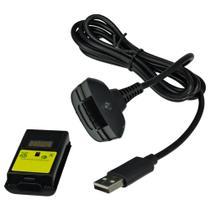 Bateria e Carregador para Controle Xbox 360 3600 Mah - Maxmidia