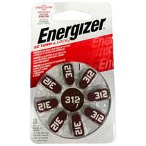 Bateria Energizer Pilha Audiologica AZ 312 Turn e Lock 38742 -