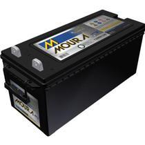Bateria estacionária moura 12v 12mn150 energia solar nobreak -