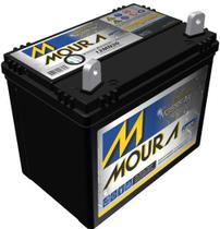 Bateria estacionária moura 30ah nobreak alarme trator 12mn30 -