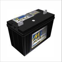 Bateria Estacionária Moura Nobreak 12V 105Ah 12MN105 Alarme Segurança Cerca Luz Pabx Energia Solar -