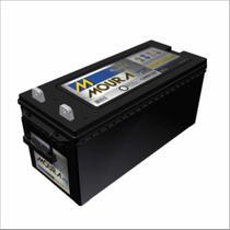 Bateria Estacionária Moura Nobreak 12V 150Ah 12MN150 Alarme Segurança Cerca Luz Pabx Energia Solar -