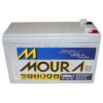 Bateria Estacionária Nobreak 12v 7ah / 20h Moura - 192
