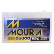 Bateria Estacionária Nobreak 12V 7Ah / 20h Moura -