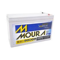 Bateria Estacionária para Nobreak 12V 9Ah Tecnologia VRLA AGM Moura -
