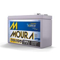 Bateria Estacionária para Nobreak Moura 12MVA-7 -