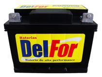 Bateria Estacionária Selada Delfor 70ah 12v Nobreak Energia Solar Igual DF1000 -