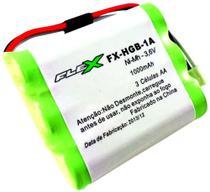 Bateria Flex Para Telefone Rural Huawei - 3,6v 1000mah - 3 Células AA / 3 Fios - FX-HGB-1A -