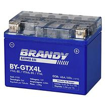 Bateria Gel Brandy GTX4L SHINERAY 50 New 50