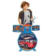 Bateria Infantil Hot Wheels 7273-4 - Fun