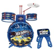 Bateria Infantil - Hot Wheels - Bateria Radical - Fun - Barão Distribuidor